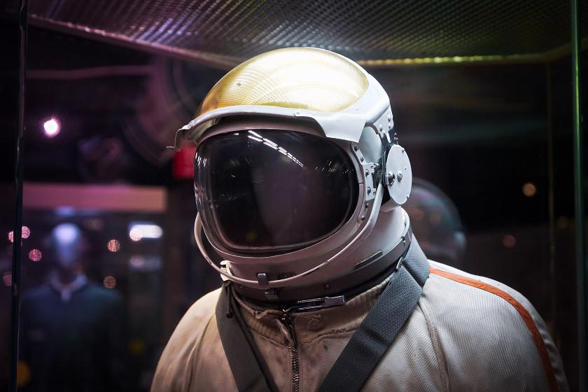 Kosmonautenanzug im Kosmonautenmuseum - Moskau
