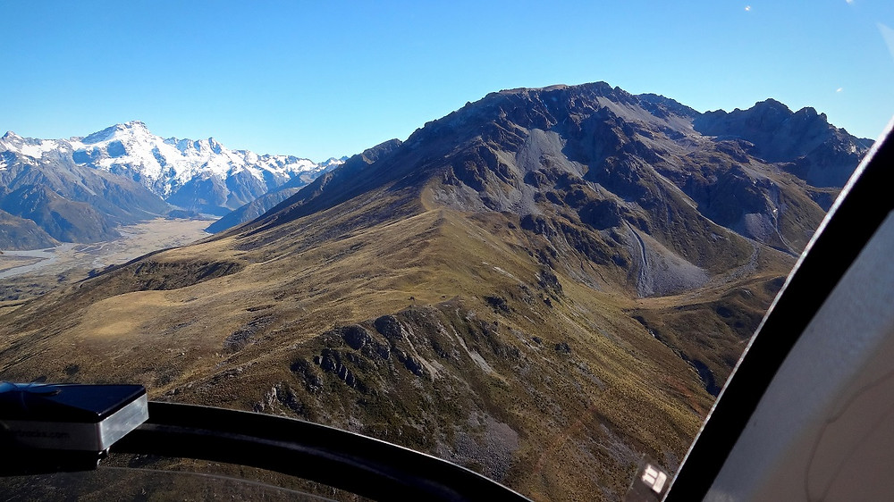 Lake Tekapo Helikopterflug