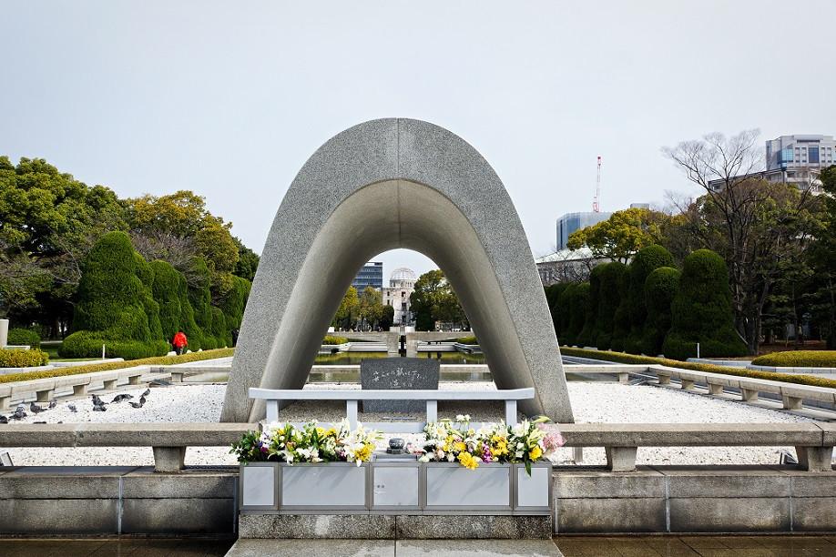 Steinmonument - Hiroshima