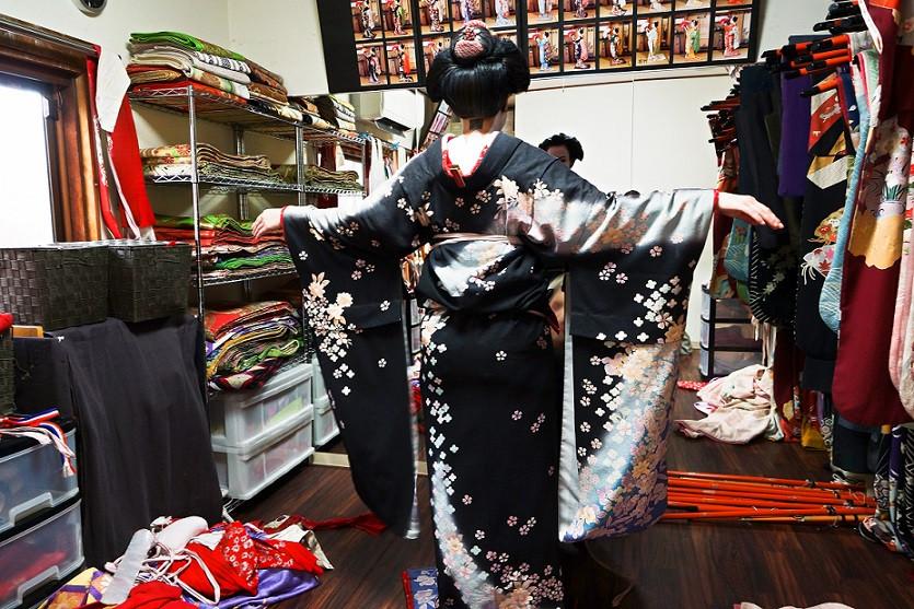 Meine Verwandlung zur Maiko - Kyoto