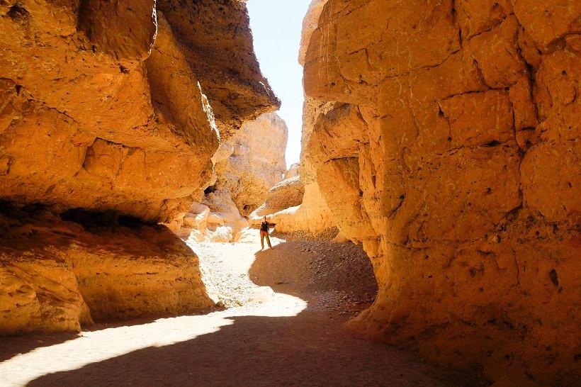 Erkundung des Sesriem Canyons auf eigene Faust