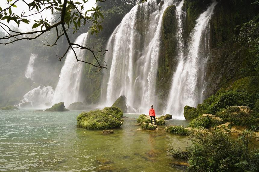 Wasserfall-Ban-Gioc