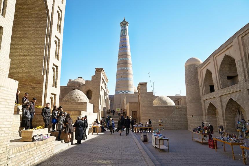 Islam Khodja Minarett in Khiva