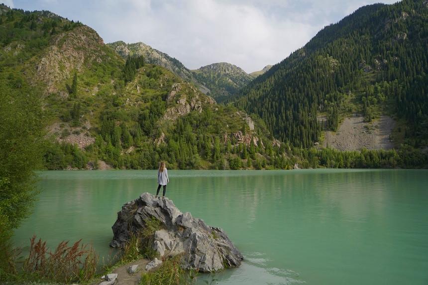 Issyk See - Lake Issyk - Kasachstan