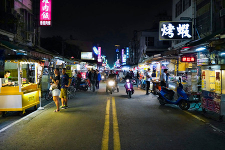 Nachtmarkt in Kaohsiung