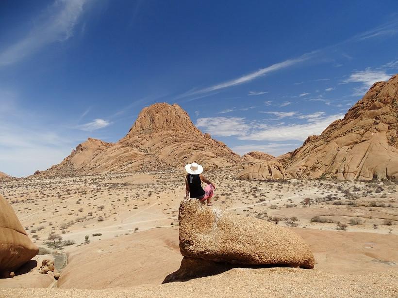 Ausblick auf die Spitzkoppe - Namibia