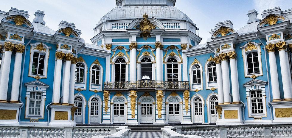 Hermitage Pavilion im Katharinenpark san