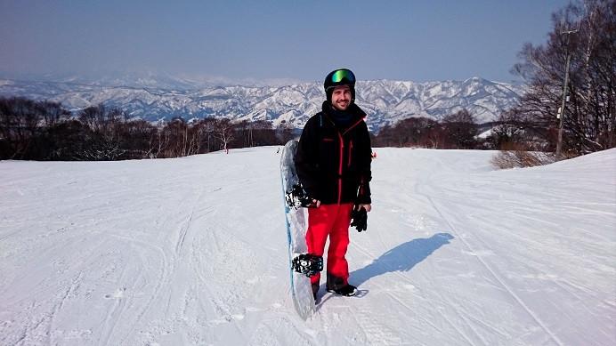 Skifahren in Nozawa Onsen - Japan