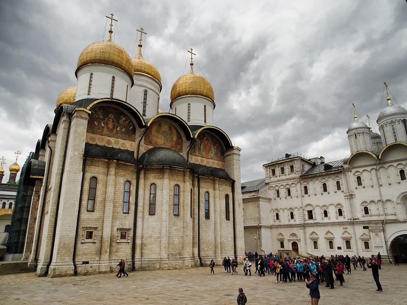 Mariä-Entschlafens-Kathedrle im Kreml - Moskau