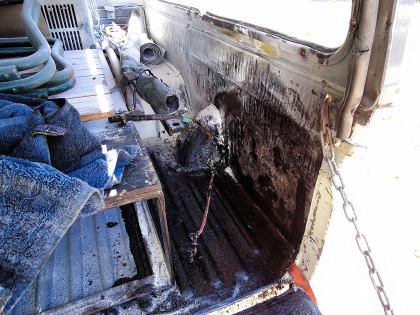 Batteriebrand am ersten Tag in Botswana