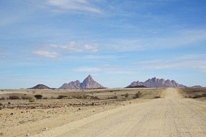 Auf dem Weg zur Spitzkoppe - Namibia