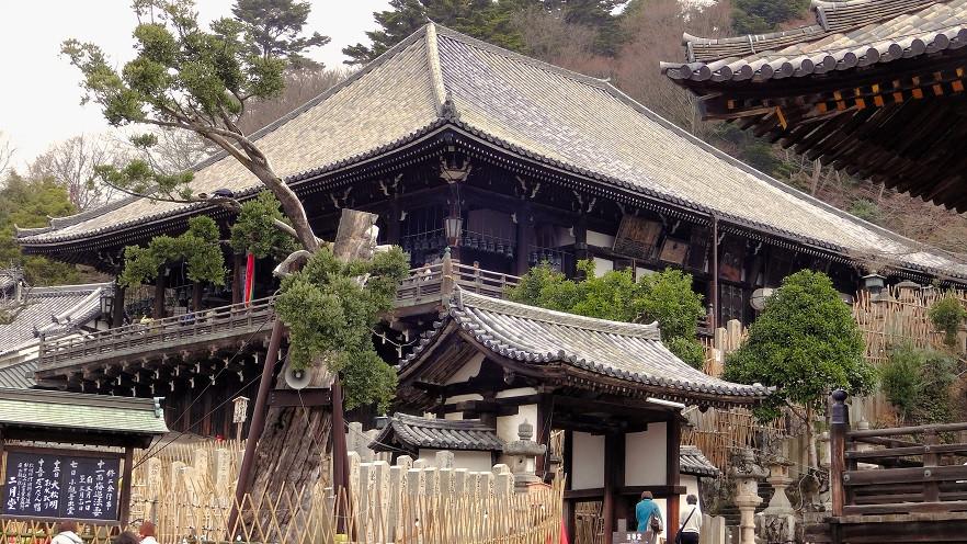 Nigatsu-do Tempel - Nara