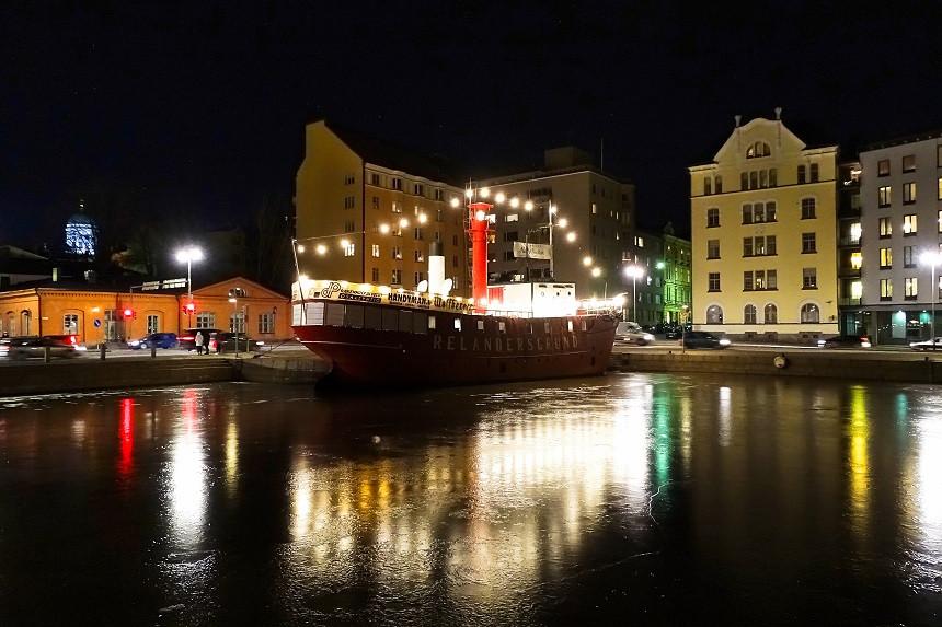 Klirrend kaltes Helsinki