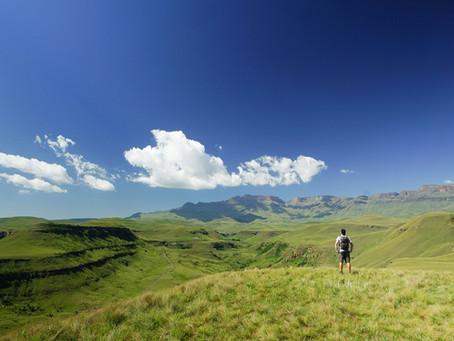 Wandern in den Drakensbergen: World's View & Wodehouse Peak
