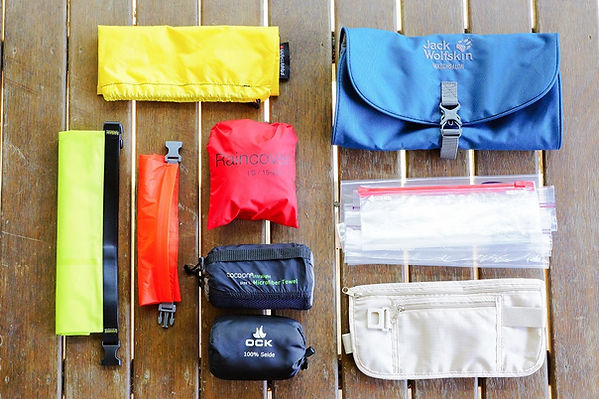 Kati Weltreise - Packhilfen