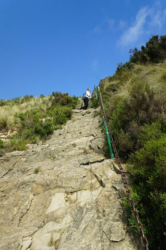 Steiler Anstieg - Golden Gate Nationalpark