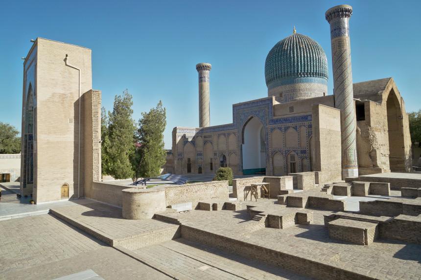 Gur-Emir-Mausoluem in Samarkand