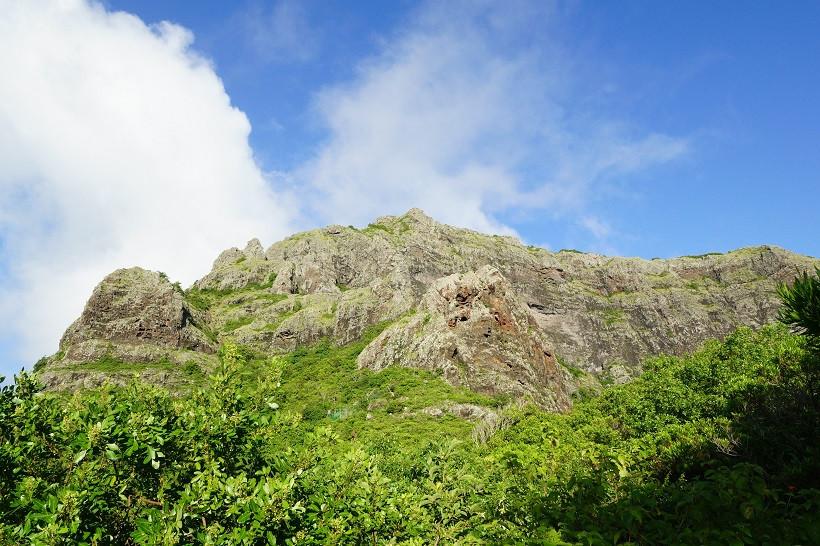 Das letzte steile Stück liegt vor uns - Le Morne Brabant