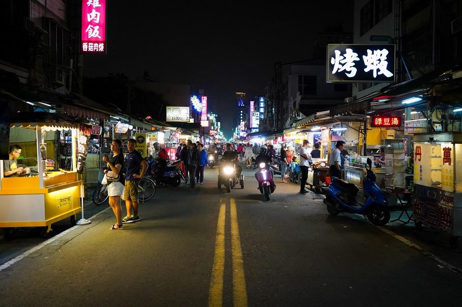 Nachtmarkt in Taiwan
