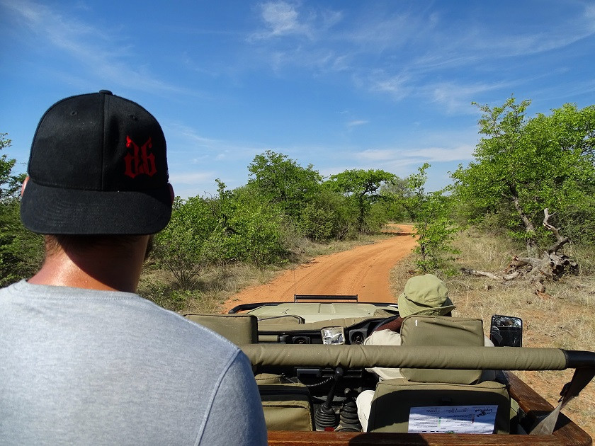 Game Drive im Tuli Wilderness Game Reserve