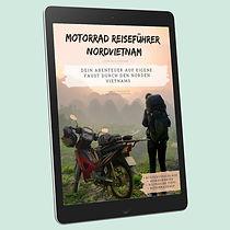 Vietnam Reisefuehrer eBook Cover Tablet.