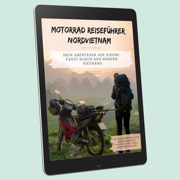 Vietnam Reisefuehrer eBook Cover Tablet.
