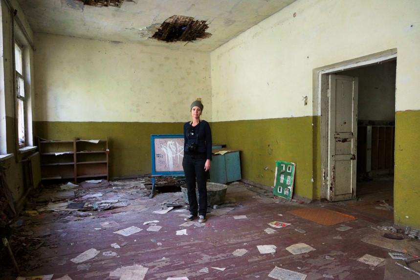 Kati in Tschernobyl