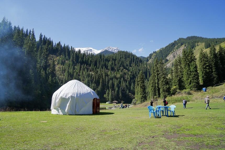 Jurte in Kasachstan