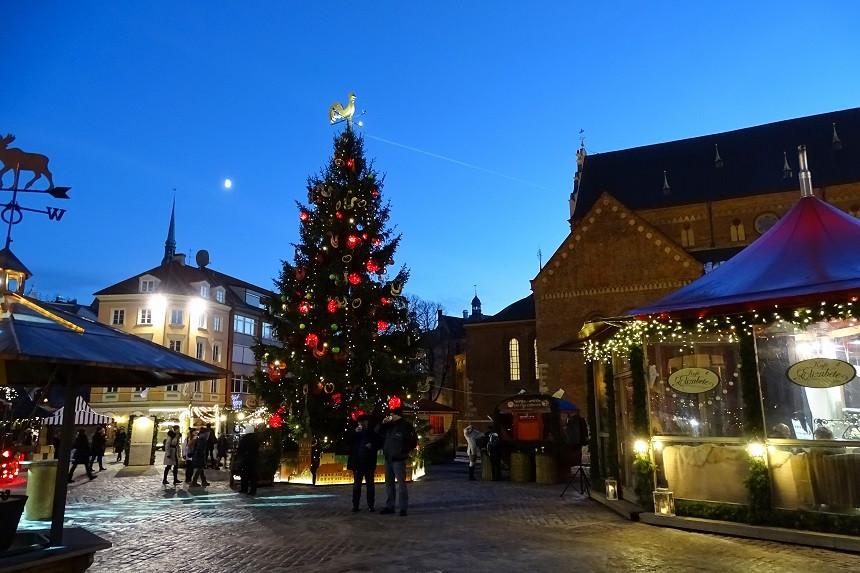 Weihnachtliches Riga