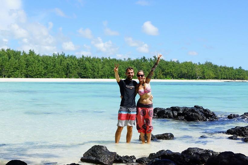 Hallo aus Mauritius - Ile aux Cerfs