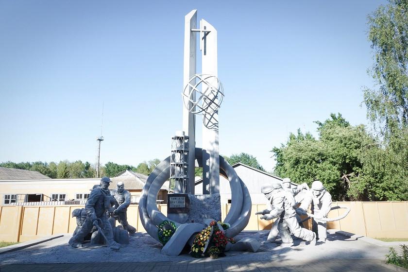 Denkmal für die Liquidatoren - Tschernobyl