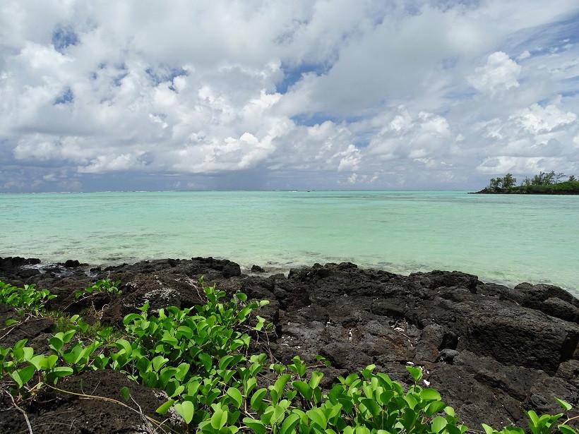 Türkises Wasser auf Ile aux Cerfs - Mauritius