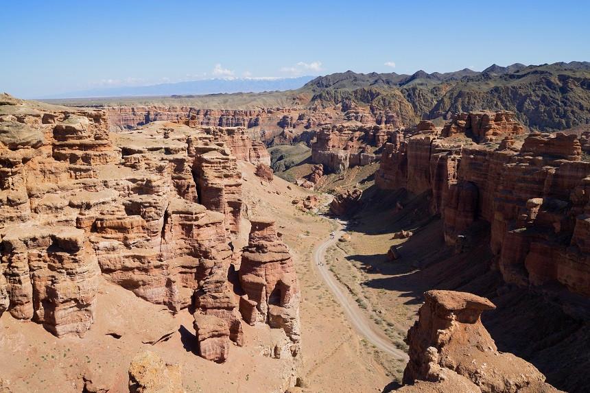 Blick auf den Charyn Canyon - Kasachstan