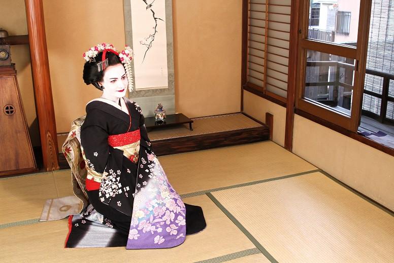 Kati als Maiko - Kyoto