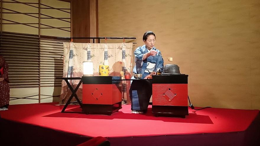 Teezeremonie, Gion Corner Kultur Show - Kyoto