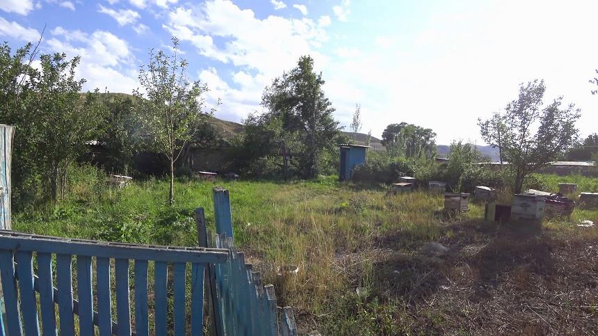 Sehr einfache Toilette in Kasachstan