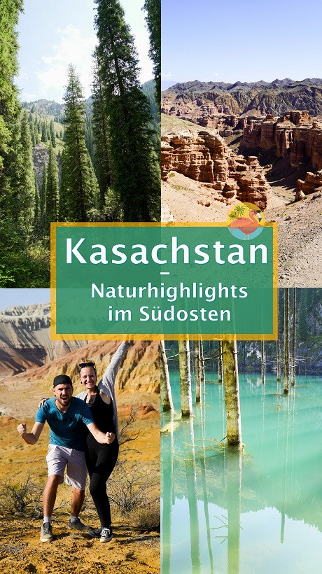 Kasachstan Natur Highlights - Pin
