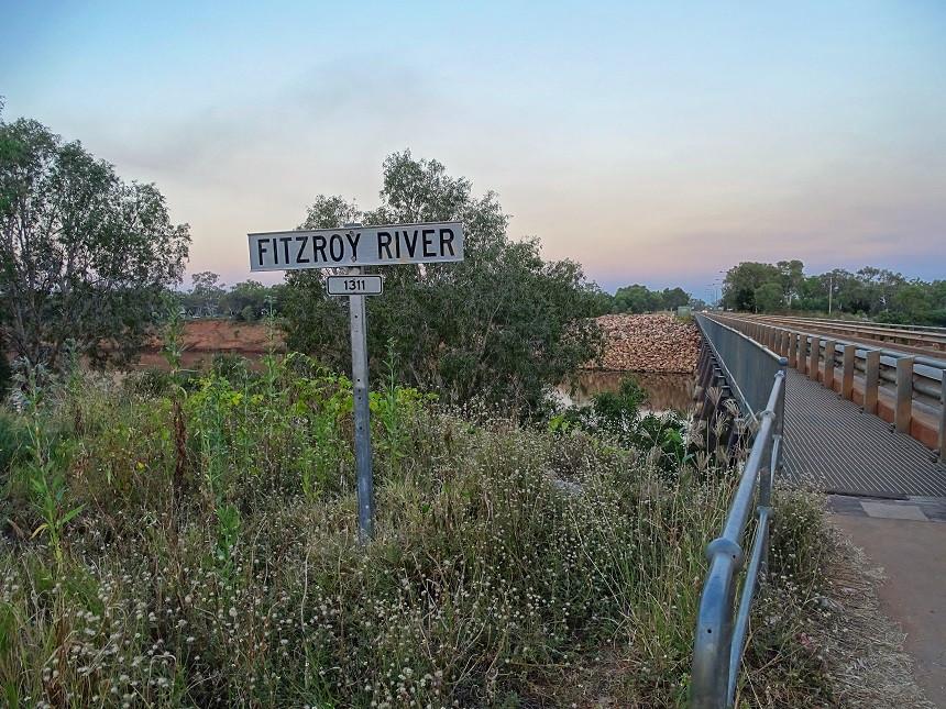 Fitzroy River Trockenzeit - Fitzroy Crossing