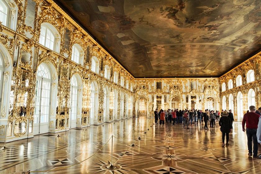 Raum im Katharinenpalast - Puschkin