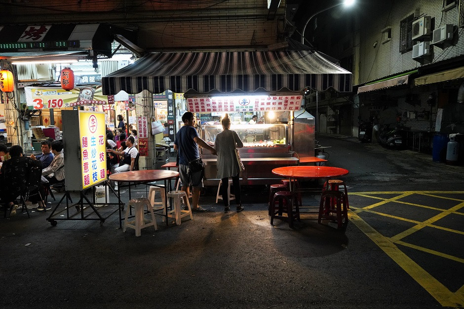 Streetfood Stand in Taiwan