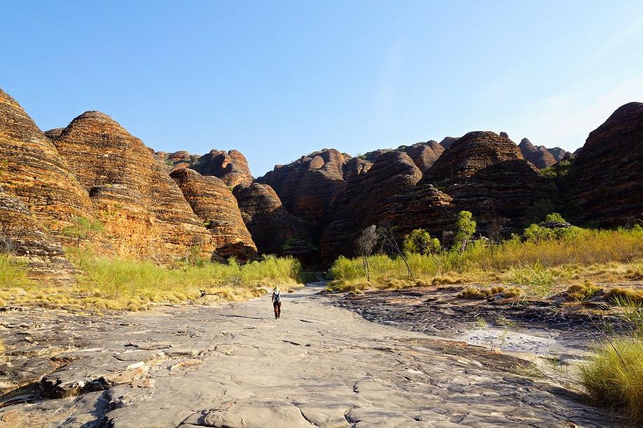 Auf dem Weg zur Cathedral Gorge - Purnululu Nationalpark