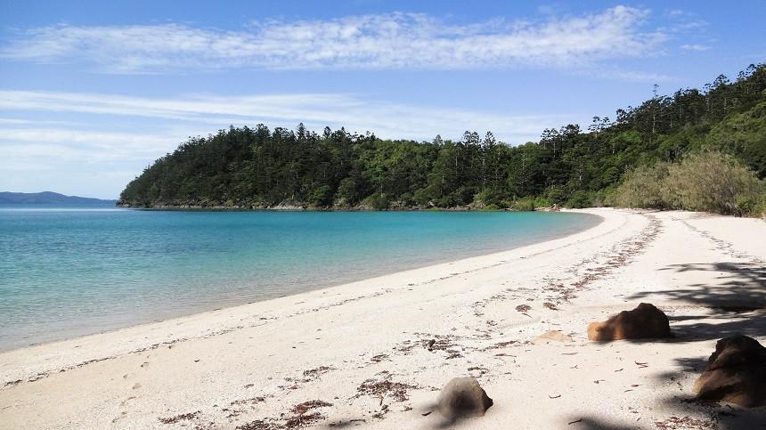 Einsame Bucht - Whitsundays - Australien