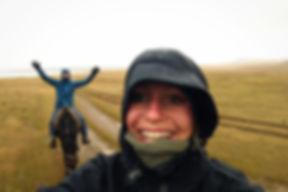 kati und hermann reiten durch den graupe