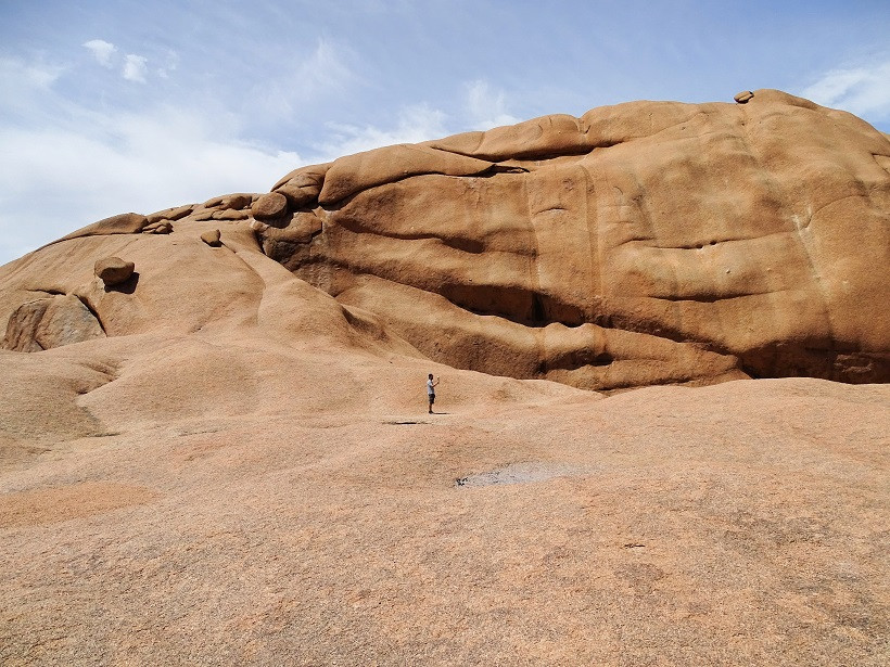 Ausgewaschene Felsen an der Spitzkoppe - Namibia