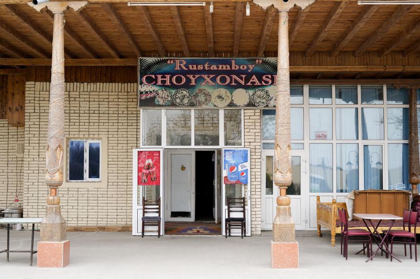 Typisches Restaurant in Usbekistan