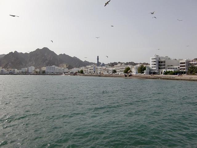Hafen in Muskat - Oman