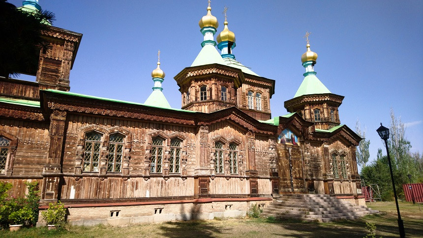 Orthodoxe Kirche in Karakol