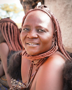 Himba Frau Portrait