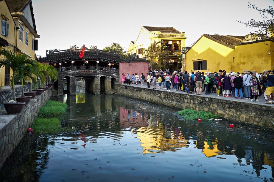 Japanische Brücke in Hoi An - Vietnam