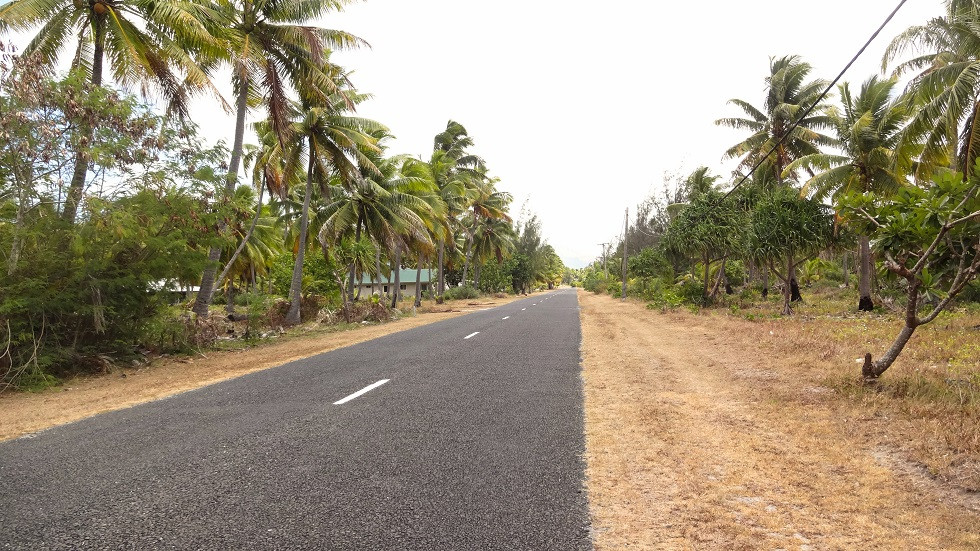 Verkehr auf Aitutaki